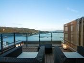 【新客室】7F温泉露天風呂付き特別室テラス