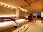 【新客室】7F温泉露天風呂付き特別室76平米(部屋食)