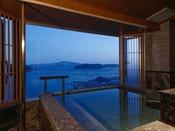 【新客室】7F特別室温泉露天風呂