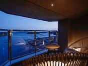 【新客室】8F温泉露天風呂付き特別室テラス