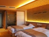 【新客室】洋室温泉風呂付きバリアフリー