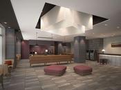 1階フロントには、アメニティバー、フリードリンク、観光雑誌を設置しております。