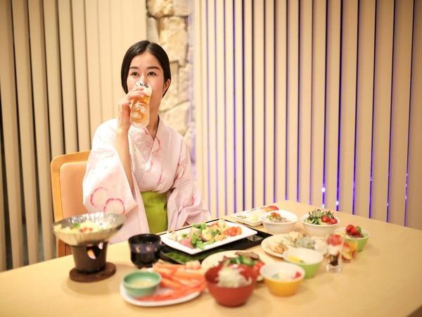 【和洋中バイキング(夕食)】テーブル一例