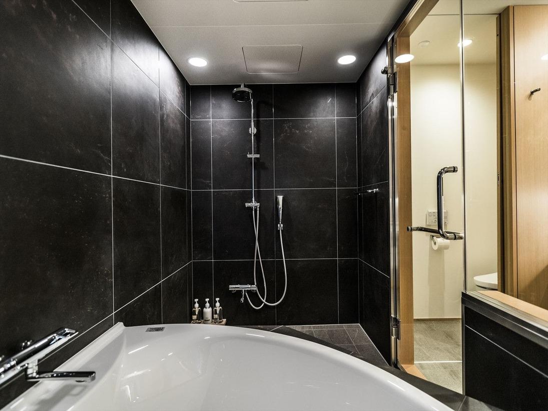 デラックスツインルームの浴槽(Deluxe Twin Room)