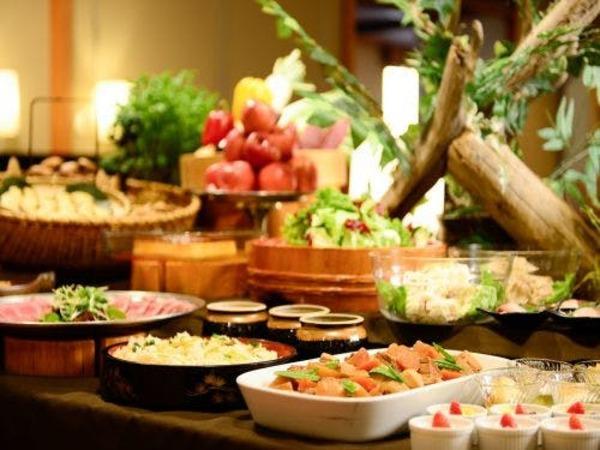 地元食材と秋田の郷土料理