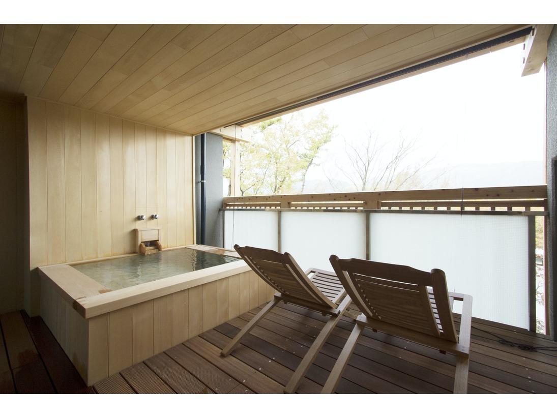 201天人草(てんにんそう)客室露天風呂