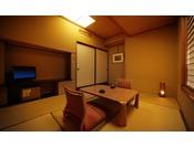 【花かんむり 6畳】お部屋からの景色はよくありませんが、リーズナブルに温泉で和室に泊まりたいという方にお薦めのお部屋です。お一人様から気軽にお泊りいただけます。