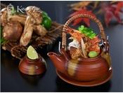 【王様のビュッフェ秋】松茸の土瓶蒸し※イメージ
