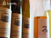 川久オリジナルのハウスワイン。