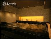 邸宅リビングスパ/寝湯:体への負担が少ないため、長時間の入浴を楽しめるリラックス効果の高い湯です。