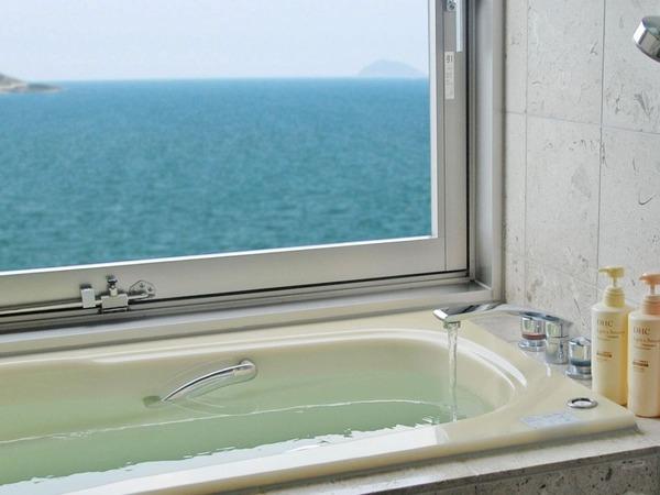 西館客室風呂