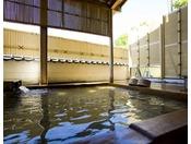 別邸水の星『箒星』客室露天風呂
