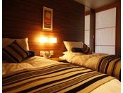 別邸水の星ベッドルーム一例