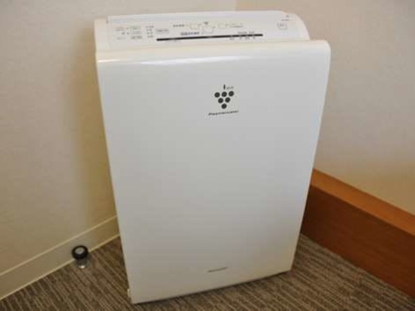 全客室に加湿空気清浄機を設置