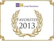 Favorrites 2013 受賞
