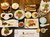 【竹コース】十津川産鹿のフルコースをご用意!脂肪が少なくヘルシーな鹿肉をフルコースでご堪能下さい。