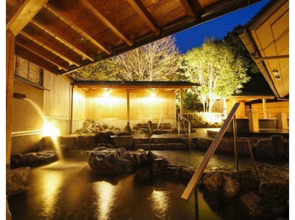 大浴場の夜景