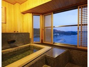 最上階客室風呂