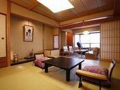 最上階 露天風呂付き特別室