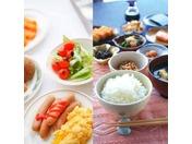 さまざまな朝食のスタイルに合った温かい料理を提供いたします。 1日の活力あるスタートに是非お召し上がり下さい。