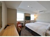 【スタンダードツイン】27平米/120cm幅シングルベッド2台