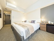 【本館】ツインルーム: 23平米 / ベッド幅123cm×2台 / 洗濯乾燥機・電子レンジ完備 / 全室禁煙