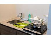 【客室設備】別館客室のミニキッチン