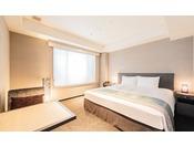 【はなれ】レジデンシャルダブルルーム: 21平米 / ベッド幅180cm / 洗濯乾燥機・電子レンジ完備 / ミニキッチン付き / 全室禁煙