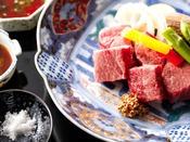 【和牛ヒレステーキ付鳳凰懐石】最高等級A5ランク和牛ヒレ肉を、厚切りステーキで贅沢にお楽しみください。