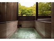 ノースウイング 温泉ビューバス付プレミアルームツイン(浴室)