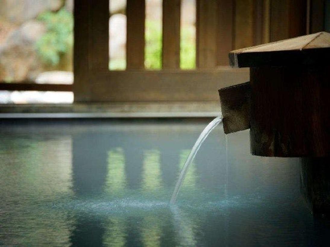 ■100%かけ流しの硫黄泉をお楽しみください
