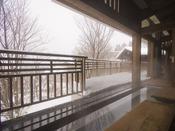 ■足湯(冬イメージ)/寒い冬でも足元はポカポカ