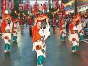 東北四大祭りの一つ!山形花笠まつり ※イメージ画像