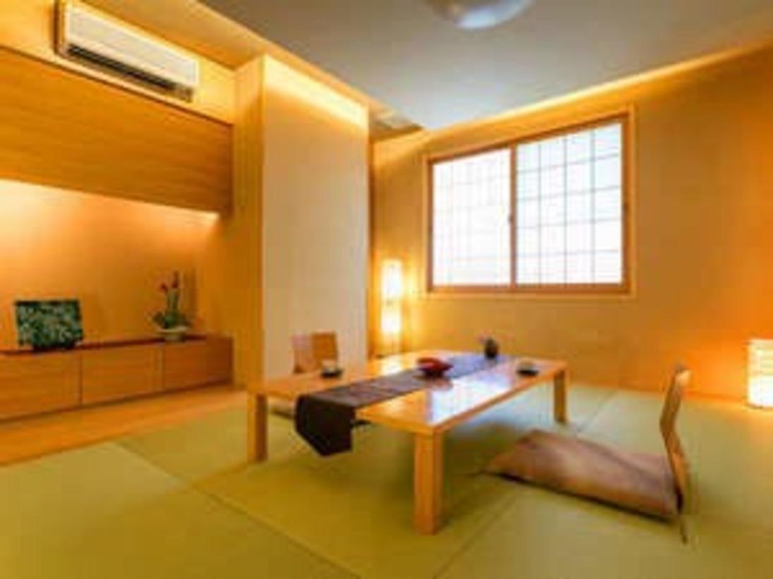 ■モダン和室【6畳】■~和の落ち着きを持つ、静かな空間 旅の疲れをゆっくり癒してくれます~