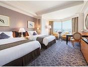 スーペリアツイン ※画像はイメージです ●広さ:42.0平米 ●ベッド:幅140cm × 長さ206cm 2台