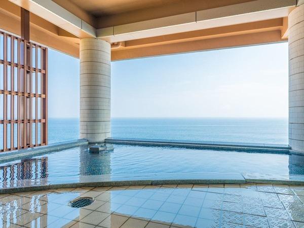 海一望の露天風呂「うみ」