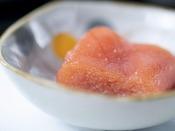 朝食ブッフェ ~北海道産「タラコ」~ ごはんのお供に、北海道産「タラコ」