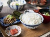 朝食ブッフェ ~お料理イメージ~ 朝はやっぱりお米!という方に。ごはんは北海道産「ななつぼし」