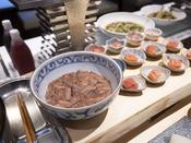 朝食ブッフェ ~ごはんのお供~ 北海道産「タラコ」の他、日替わりで数種ご用意しております。