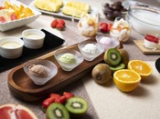 朝食ブッフェ ~デザートイメージ~ 女性やお子様に大人気!朝ならちょっと食べすぎても大丈夫?!