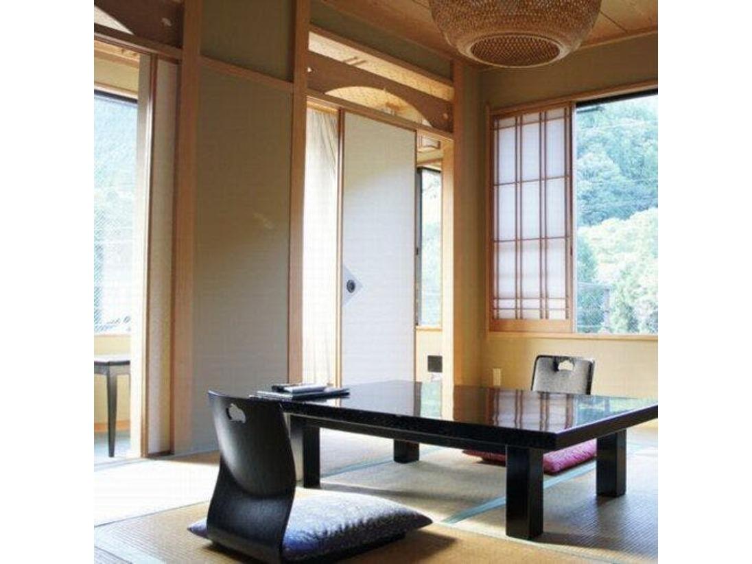 【和室一例】和室は全15室 客室内は全て禁煙とさせていただいております。※ラウンジ・宴会場は喫煙可