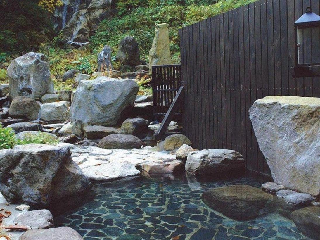*開放感のある露天風呂
