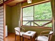 *【和室6~8畳】お部屋からは龍神の自然を満喫できます。