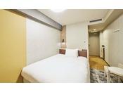 18平米 154cm幅ベッド1台