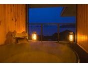 飛島館suite 専用露天風呂