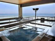 *【富士の湯:展望大浴場 外湯(一例)】「ローヤルゼリー湯」でしっとりスベスベのお肌に!