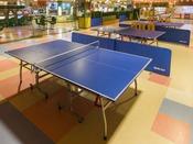 *【お祭りランド ゲームセンター(一例)】温泉といえば、やっぱり卓球♪