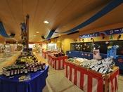 *【お祭りランド お土産処「花車」】広い売り場で房総で人気のお土産もご用意!