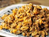 *【朝食バイキング(一例)】木更津といったら、あさり!美味しい佃煮をご用意しております♪