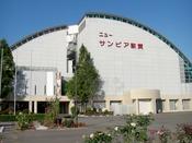 【外観】JR北陸本線敦賀駅より車で約8分。ゆったり広めのお部屋と大浴場が自慢です